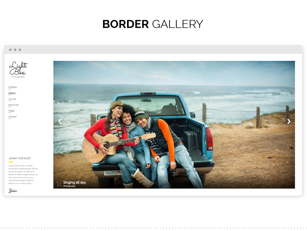 Lightbox - Photography & Portfolio Theme